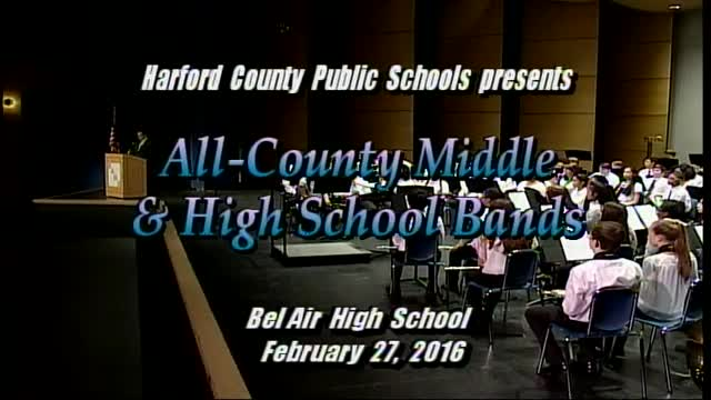 2016 All County Band Concert