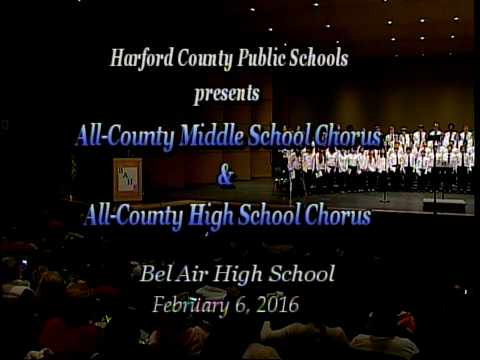 2016 All-County Chorus Concert