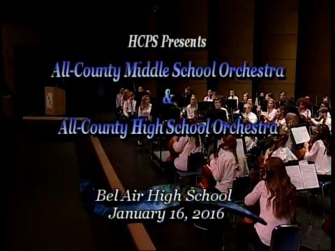 2016 All-County Orchestra Concert