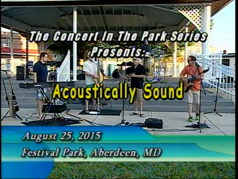 Concert in the Park Series - August 25, 2015