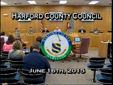 Harford County Council - June 16, 2015