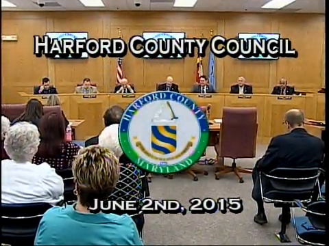 Harford County Council - June 2, 2015