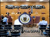 Harford County Council - June 17, 2014