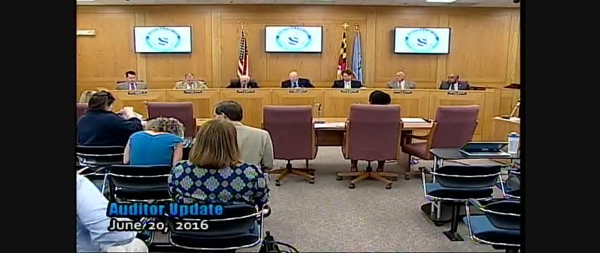 Harford County Council - June 21, 2016