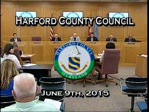 Harford County Council - June 9, 2015