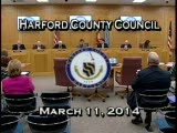 Harford County Council - March 11, 2014