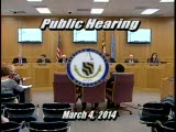 Harford County Council - March 4, 2014