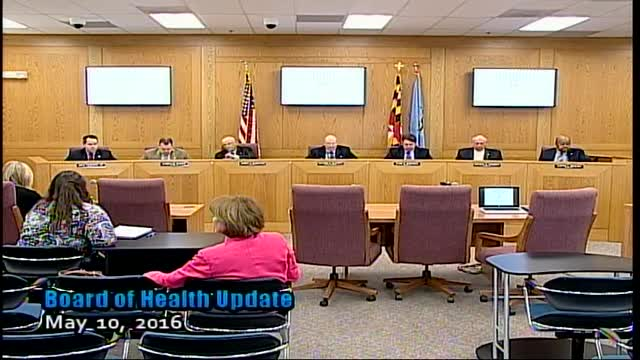 Harford County Council - May 10, 2016