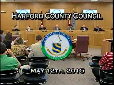 Harford County Council - May 12, 2015