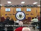 Harford County Council - September 9, 2014