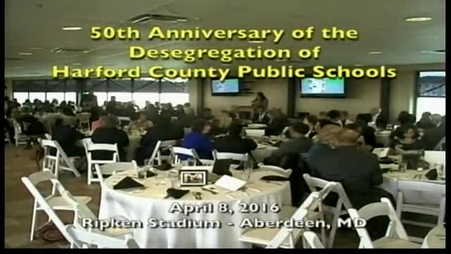 50th Anniversary of the Desegregation of Harford County Public Schools
