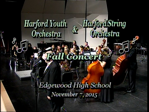 Harford Youth Orchestra & Harford String Orchestra Fall Concert