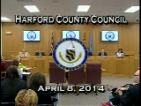 Harford County Council - April 8, 2014