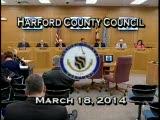 Harford County Council - March 18, 2014