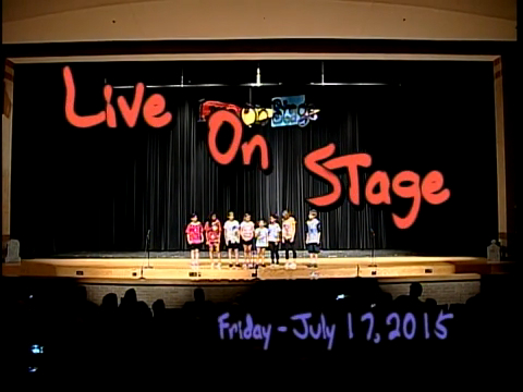 Live on Stage - July 17, 2015