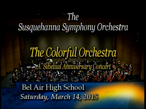 Susquehanna Symphony Orchestra - March 14, 2015