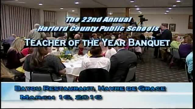 22nd Annual HCPS Teacher of the Year Banquet
