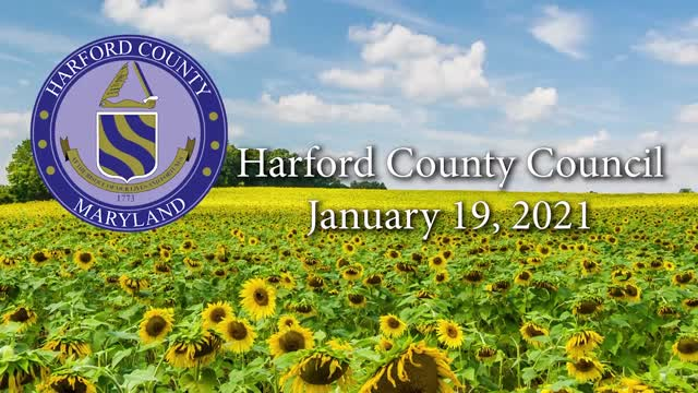 Harford County Council - January 19, 2021